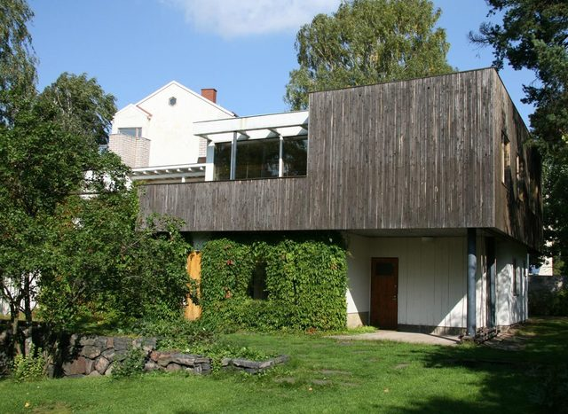 aalto completed the house plan - Alvar Aalto House Plans