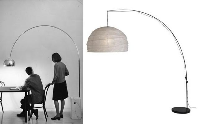 ikea floor lamps lighting. Mix Ikea Castiglioni Lamp 2 Floor Lamps Lighting