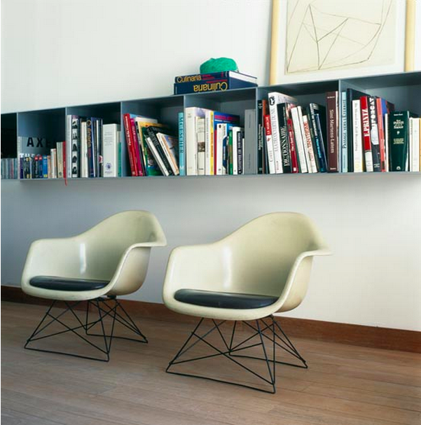 eames molded plastic chair eiffel base