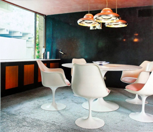 tulip table and chairs