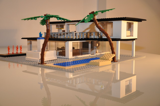 vote the best lego mid century modern house