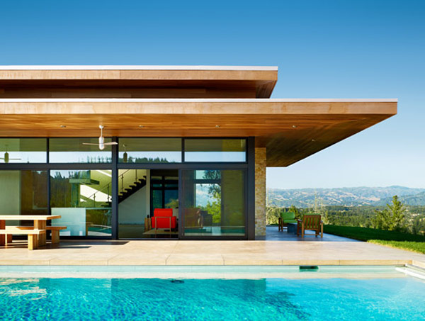 mid century modern architecture by Dowling Studios