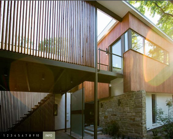 Mid century modern renovation by w2 studio for Mid century modern renovation