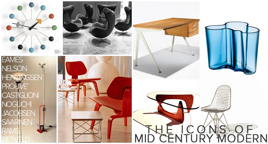 Resources iconic mid century furniture for Iconic mid century modern furniture