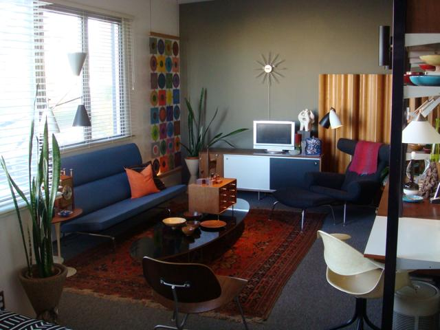 Love For Mid Century A Collector S Apartment In San Go. Eames Compact Sofa  High Quality ...