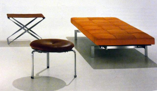 poul kjaerholm stools and bench
