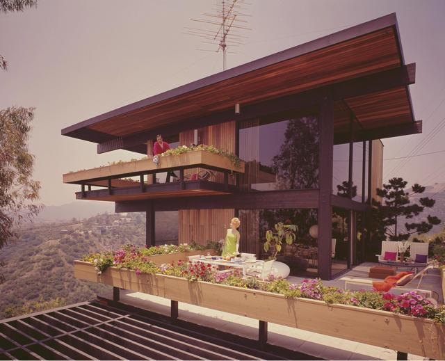 franks house - julius shulman