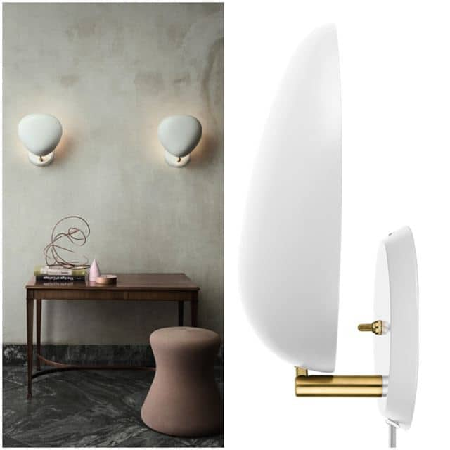 Gubi - greta grossman - cobra lamp applique_mix