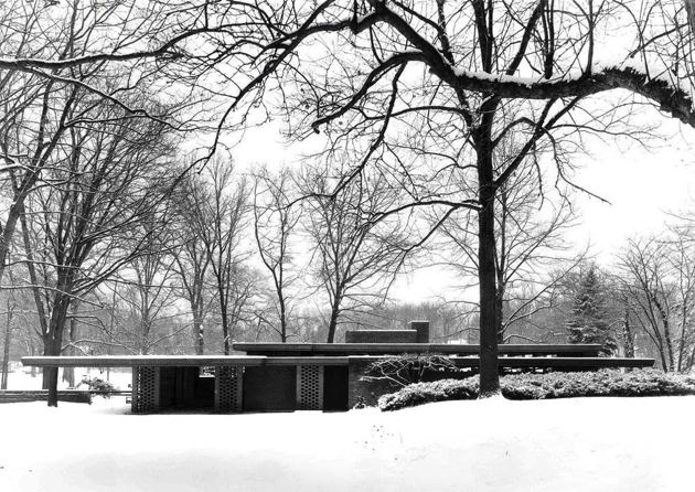 Smith House - Bloomfield Hills, Michigan - Frank Lloyd Wright, 1950