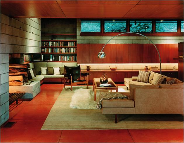 6 Mid-Century Houses with Cozy Wood-Paneled Living Rooms