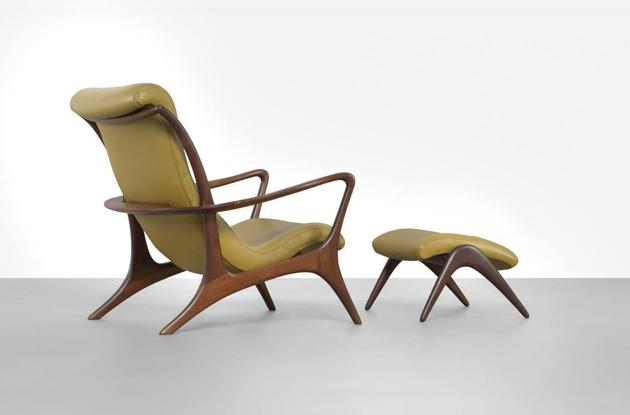 Vladimir Kagan - Lounge chair