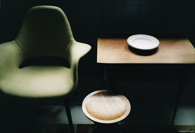 eames - saarinen organic chair