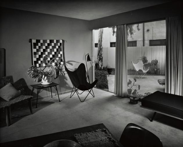 carl maston - virgil apartments - los angeles - 1951 - julius shulman 2
