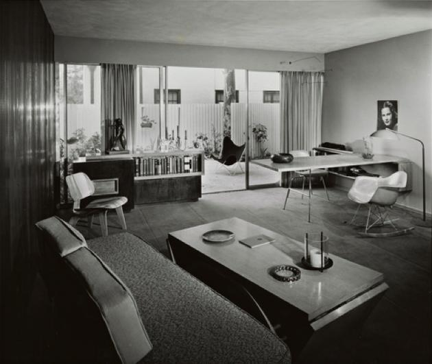 carl maston - virgil apartments - los angeles - 1951 - julius shulman