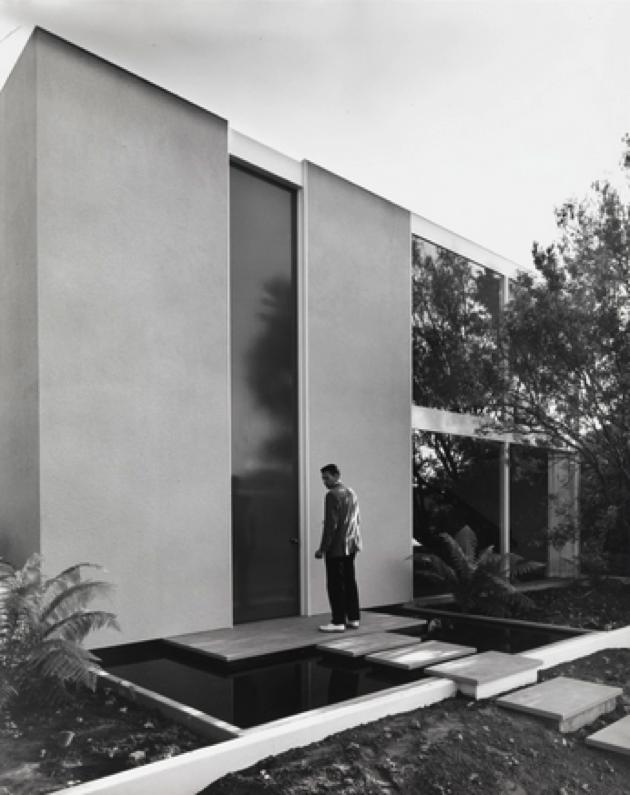 case study house 25 - Killingsworth, Brady and Smith - julius shulman - outside