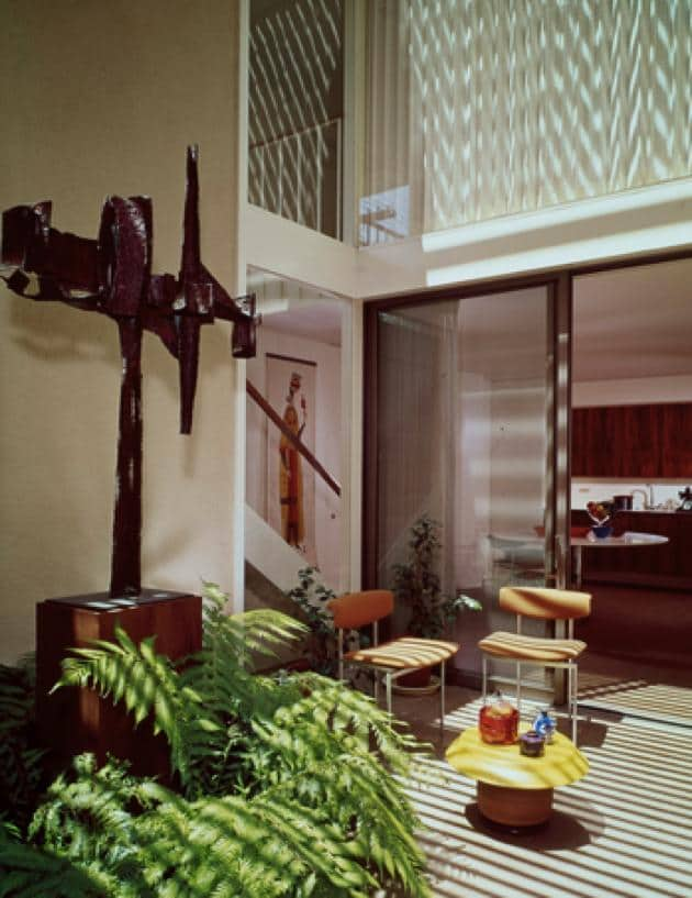case study house 25 - Killingsworth, Brady and Smith - julius shulman - atrium