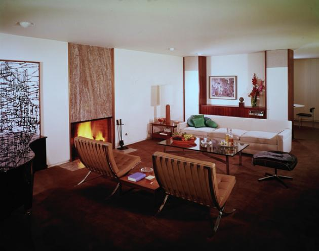 case study house 25 - Killingsworth, Brady and Smith - julius shulman - living
