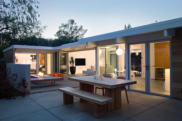eichler home remodeled klopf architecture 3