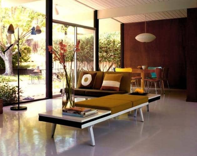 eichler house living room
