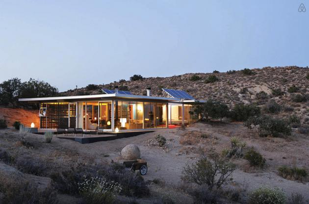 itHouse - Pioneertown - Airbnb - Taalmankoch architects 5