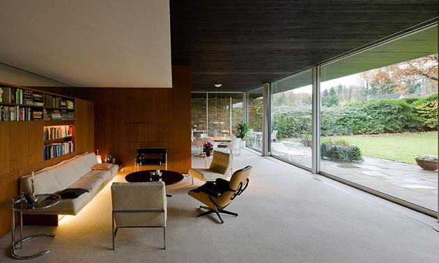 richard neutra pescher house - Wuppertal - iwan baan