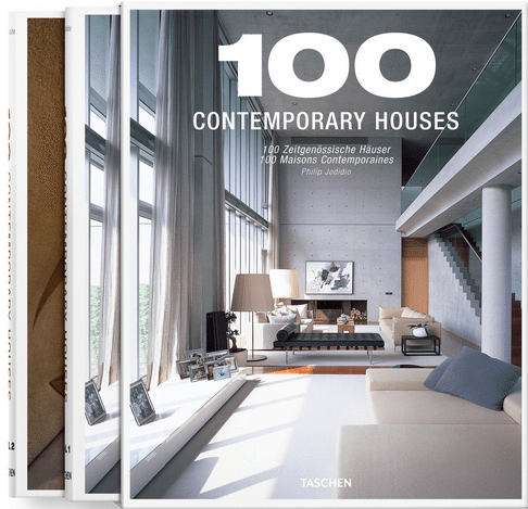100 contemporary houses - taschen - cover