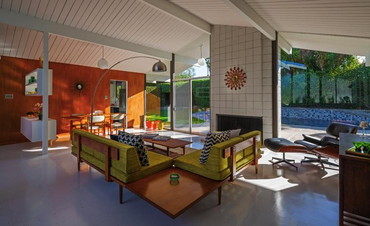 Anshen and Allen - Eichler home - Orange County
