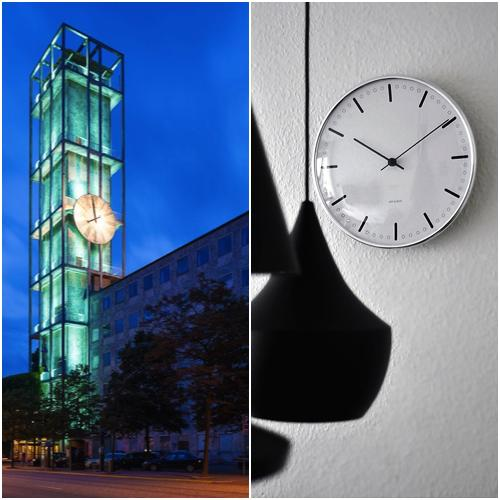 Arne Jacobsen - Aarhus City Hall Clock