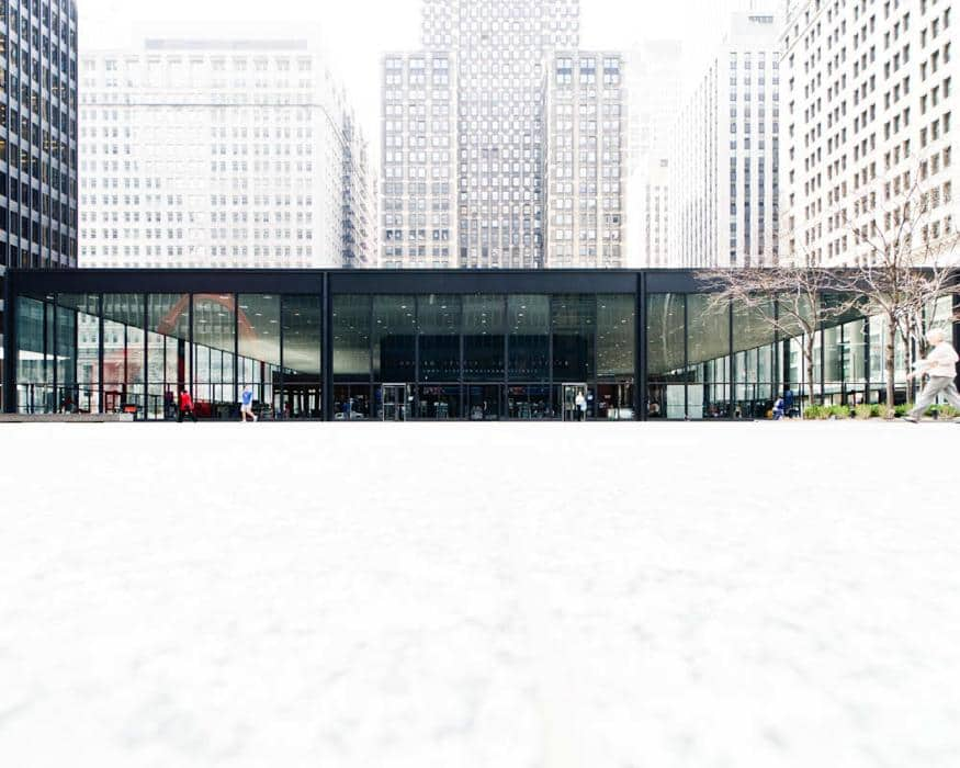 mies van der rohe - chicago federal center