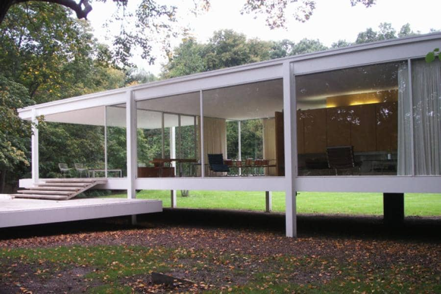 the glass house mies van der rohe 39 s farnsworth house