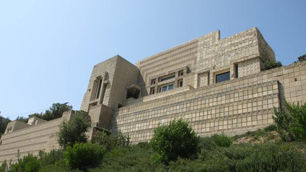 Frank Lloyd Wright House Los Angeles: Frank Lloyd Wright Homes: The Charles Ennis House