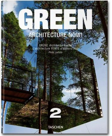 green architecture now - taschen - book cover
