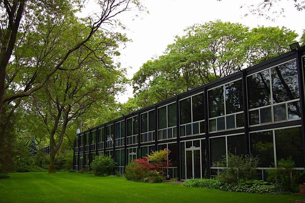 the ludwig mies van der rohe architecture legacy in detroit lafayette park. Black Bedroom Furniture Sets. Home Design Ideas