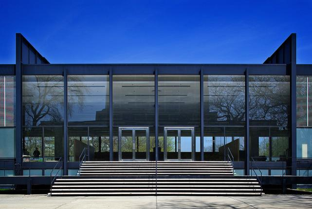 mies van der rohe - crown - illinois institute of technology campus - chicago