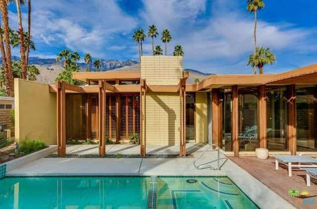 Stan Sackley mid century home palm springs