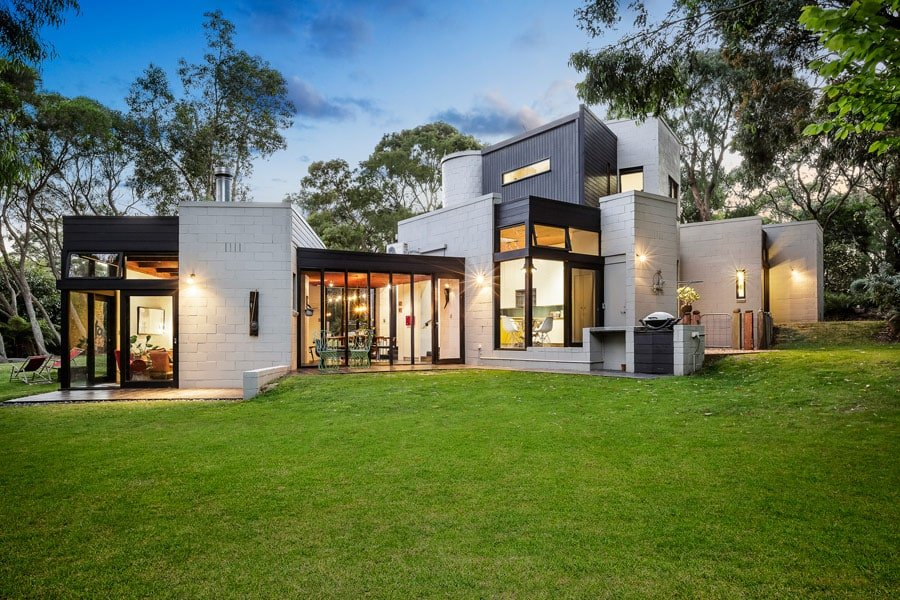postmodern residential architecture.  Postmodern Mid Century Postmodernist House Suzanne Dance Australia Throughout Postmodern Residential Architecture N