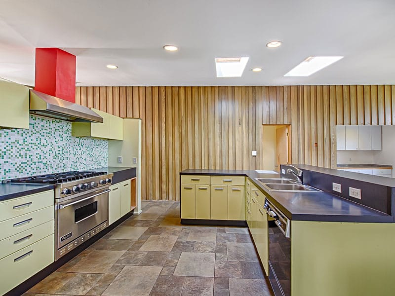 Mid Century Modern Denver kitchen
