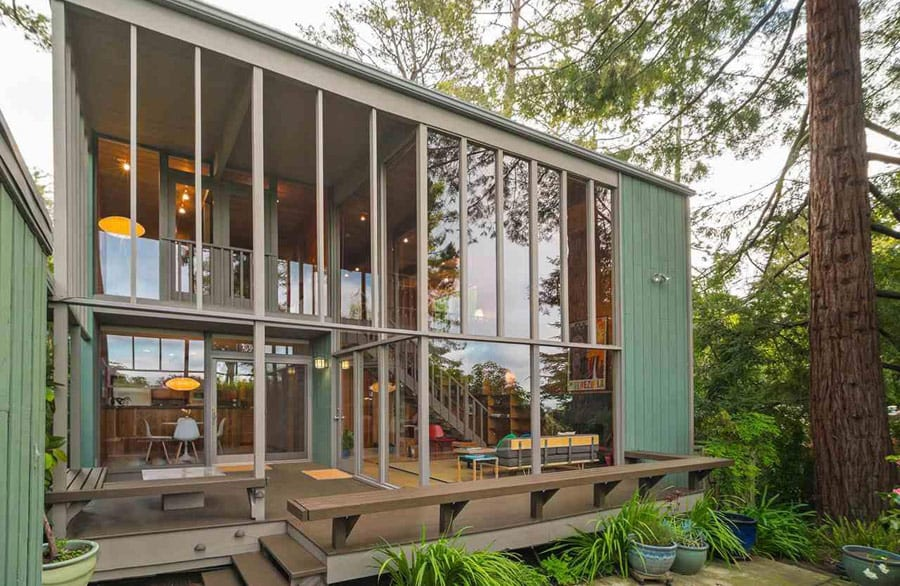 mid-century house california by Roger Lee