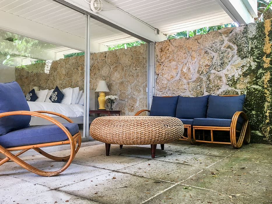 Darrel Fleeger mid-century house miami outside