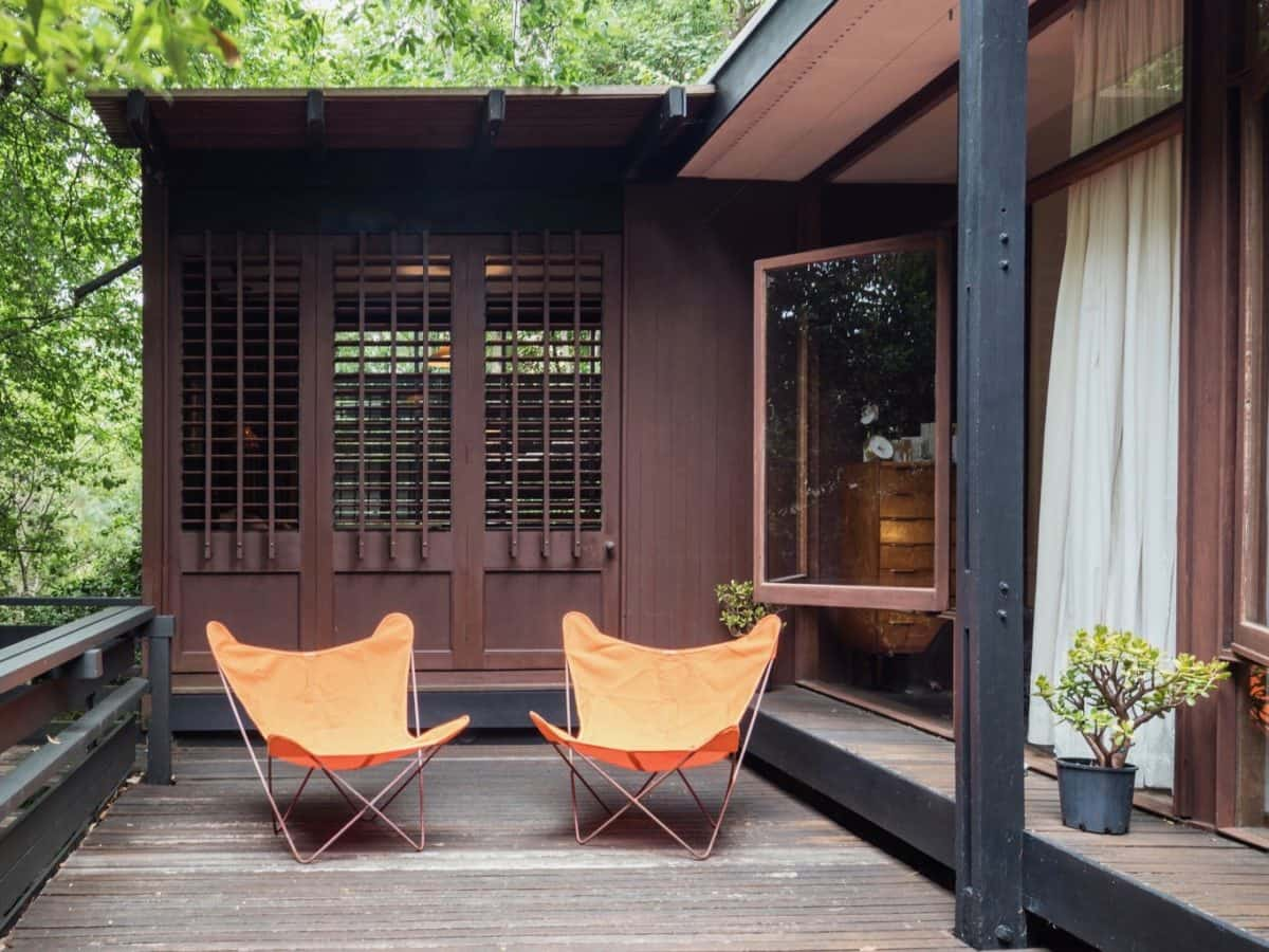Russel Jack House in Sydney - patio