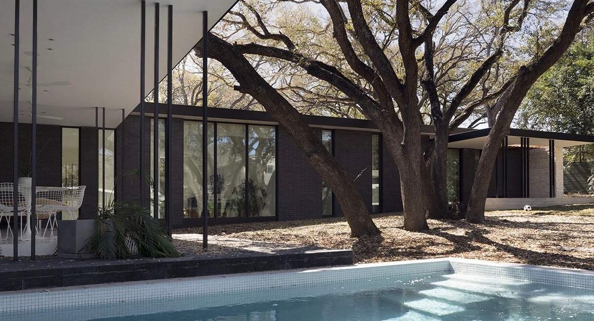 Modern house baldridge architects - Paramount Residence_ exterior pool